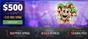 BitStarz > 5 BTC Bonus & 20 No-Deposit Free Spins <