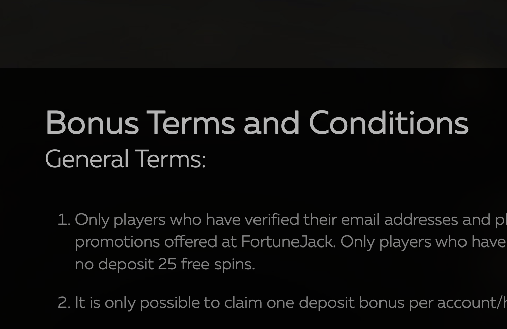 How to understand bonus terms and conditions